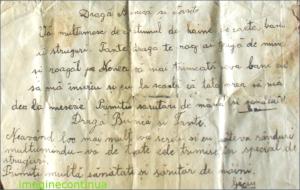 SCRISOARE DIN 1935
