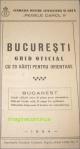 BUCURESTI-ghid oficial in 1934.