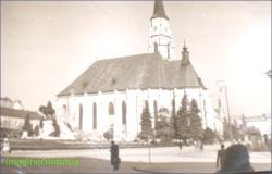 Biserica Neagra din Brasov in anul 1939