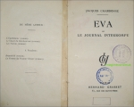EVA OU LE JOURNAL INTERROMPU