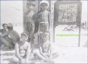 Fotografi de altadata pe litoral, circa 1930