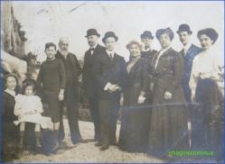 Portret de familie, circa 1900