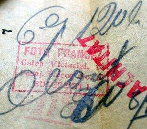 Calea Victoriei mr.18, pasajul Macca nr.20, Foto Francez, perioada interbelica.