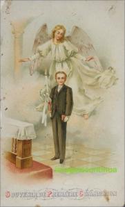 Iconita de premiere Comunion din anul 1933