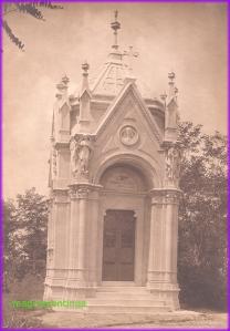 Asa arata cavoul familiei Fanciotti din Braila in anul 1906, anul in care a fost contruit.