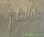 Sigla studioului Foto Julietta, circa 1912