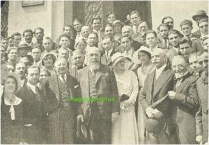 N.Iorga la deschiderea cursurilor Universitatii din Bucuresti in anul 1931