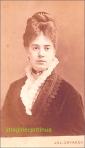 Doamna cu par superb, Galatz( Galati), circa 1874