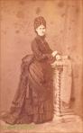 Doamna cu par impletit, circa 1875