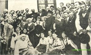 N. IORGA in anul 1930 cu ocazia implinirii varstei de 59 de ani
