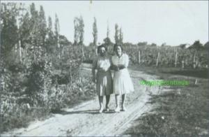 La plimbare, circa 1939
