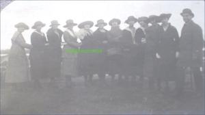 Prezentare de palarii la Braila, circa 1920