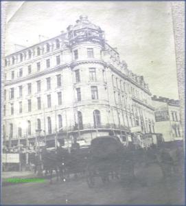 Calea Victoriei la inceput de secol XX, circa 1900