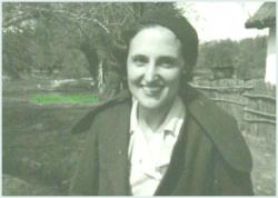 Doamna in Delta Dunarii, circa 1924-1925