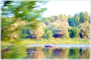 Pescari in delta