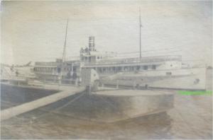Nava fluviala de pasageri Principele Mircea, circa 1914