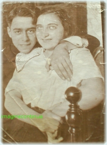 Tineri indragostiti, circa 1915