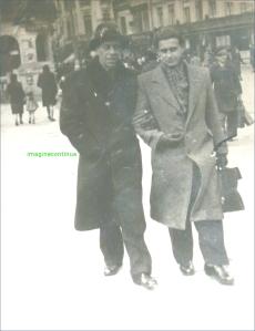 Calea Victoriei animata in anul 1943