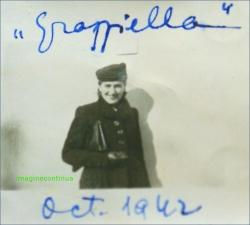 Eleganta Grazziella in anul 1942