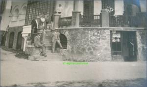 Turisti la Predeal in perioada interbelica, circa 1925-1926