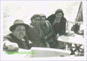 Navigand pe Dunare in perioada interbelica, circa 1925-1926