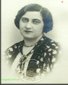 Portretul unei doamne in 1939