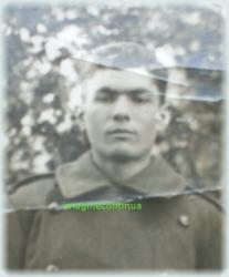 Portetul unui soldat din Braila in 1942
