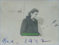 Ada, din profil, decembrie 1942