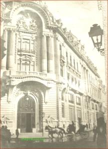 Palatul Bursei din Bucuresti, circa 1912