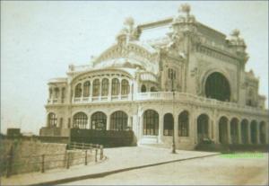 Cazinoul din Constanta inainte de Primul Razboi Mondial, circa 1912-1913