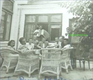 E.FANCIOTTI la acordeon in anul 1942