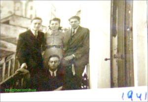Pe balcon in anul 1941