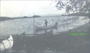 Plase de pescari in Delta Dunarii