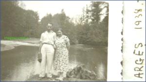 Argesul in vara anului 1938