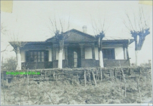Cottage on the Danube, about 1939-1940.