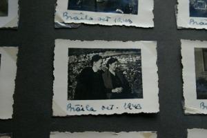 In gradina de flori. Braila octombrie 1943