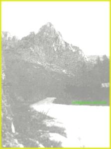 Peisaj montan in perioada interbelica