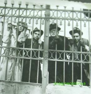Poarta de fier forjat, Braila, circa 1942-1943