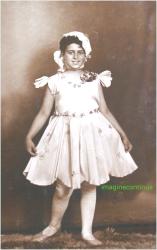 portret de copil in perioada interbelica