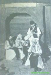 tarani  din Saliste in costum popular