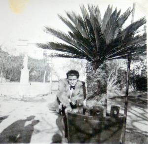 Statuia Sancta Maria din Braila in anul 1943
