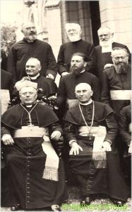 Vladimir Ghika impreuna cu nuntiul papal Dolci