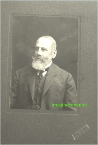 ERNESTO FANCIOTTI, circa 1900.