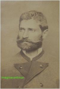 portret de barbat in anul 1875