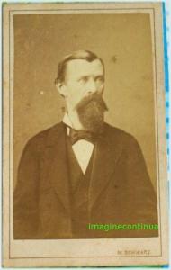 Portret be barbat, circa 1875-1880