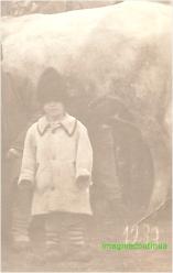 Copil de taran in anul 1939