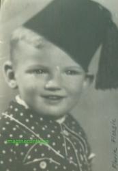 Florin Piersic-portret de copil din anul 1938