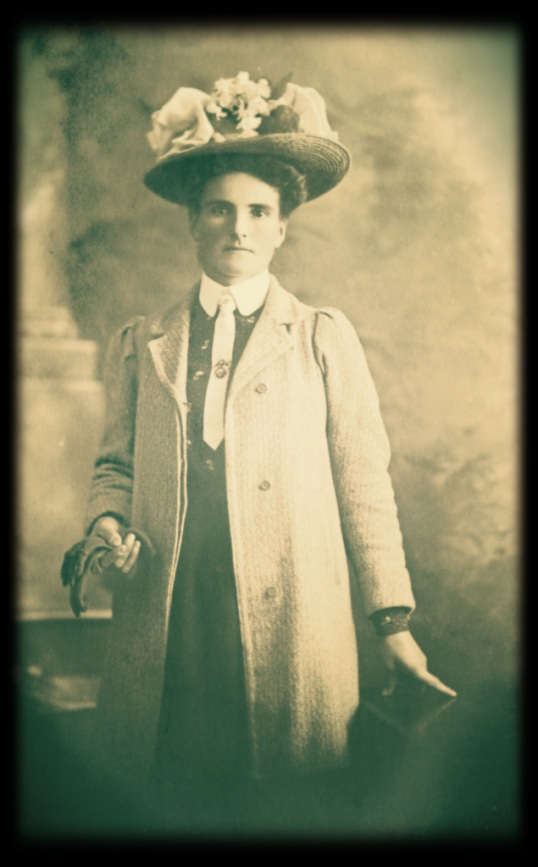 The Big T's great grandmother, Veronika Klukofsly. Photo undated. From Dove family archive.