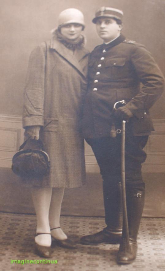 Ofiter roman cu sotia