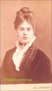 Foto JUL.(ES) UDVARDY, GALATZ, 1874.